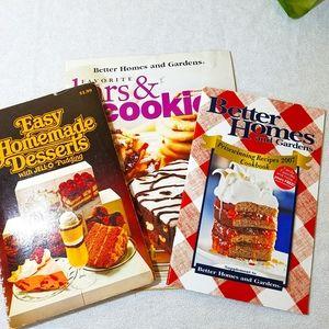 3/$10📚 Dessert Booklets, Bundle of 3